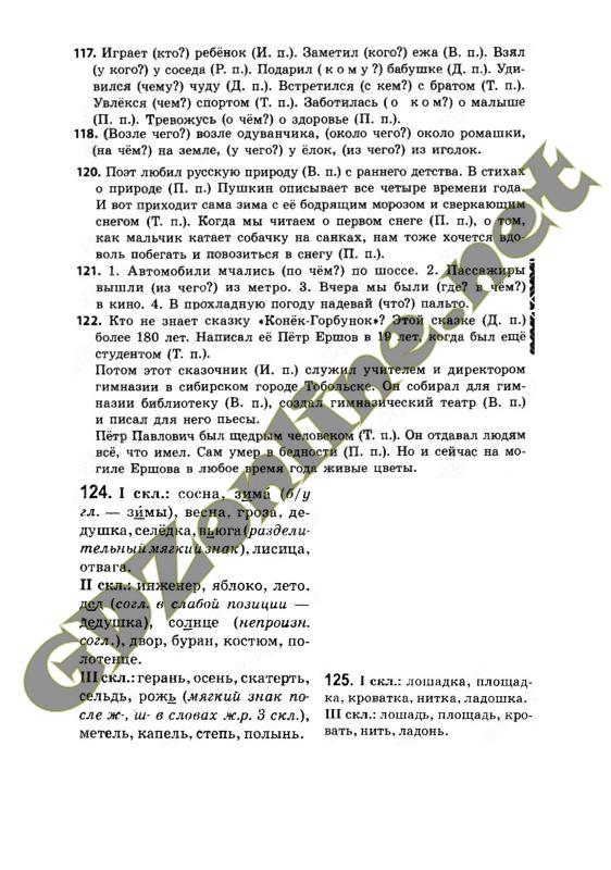 Решебник по русскому языку для 3 класса селивановой каневской и олейник