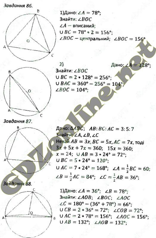 гдз по геометрії 7 класс збірник