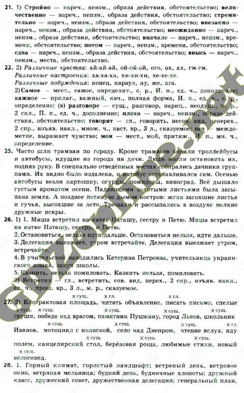 Скачать решебник русский язык 8 класс быкова