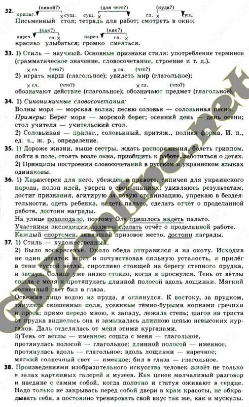Решебник по русскому языку 7 класс быкова давидюк стативка гдз онлайн
