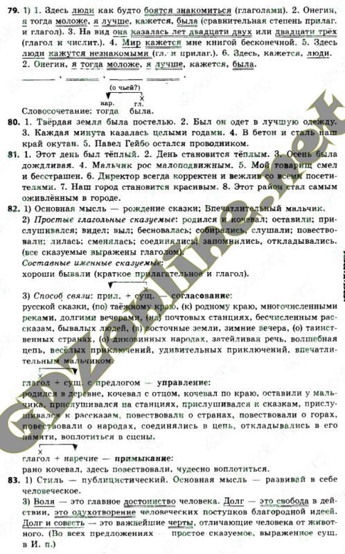 Решебник гдз для русскому языку 6 класс быковой все упражнения