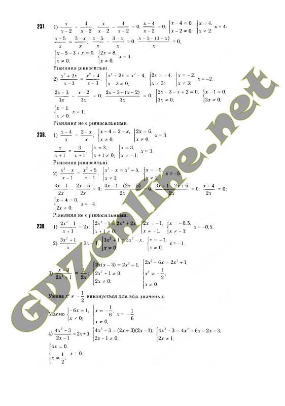 ГДЗ по алгебре 8 класс Тарасенкова 2016