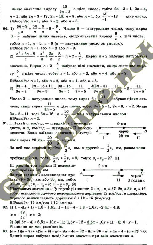 Решебник по алгебре 8 класс мерзляк