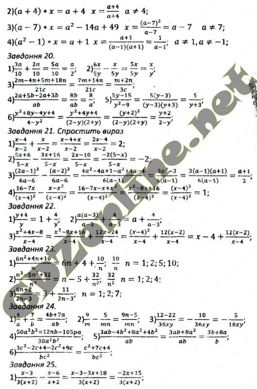 Ulp мерзляк сборник по алгебре 8 класс