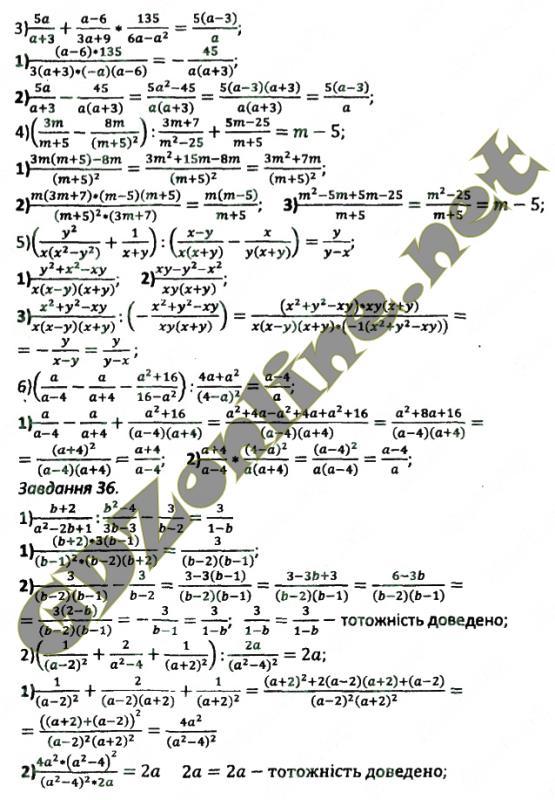 ГДЗ алгебра збiрник задач Мерзляк 10