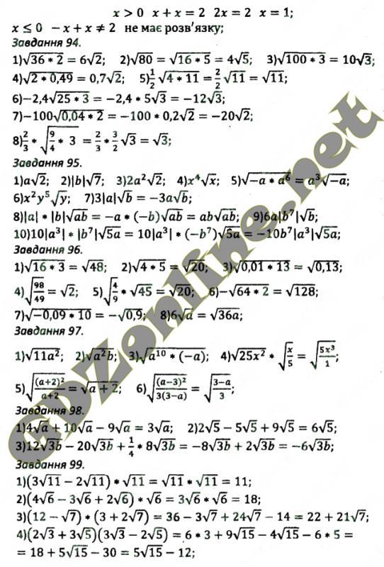 алгебри 9 клас гдз збірник задач з