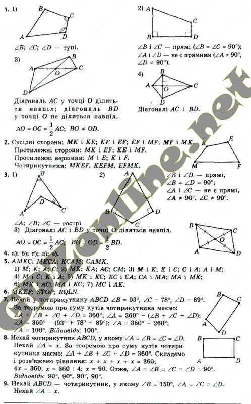 Гдз сборник геометрия 8 класс мерзляк