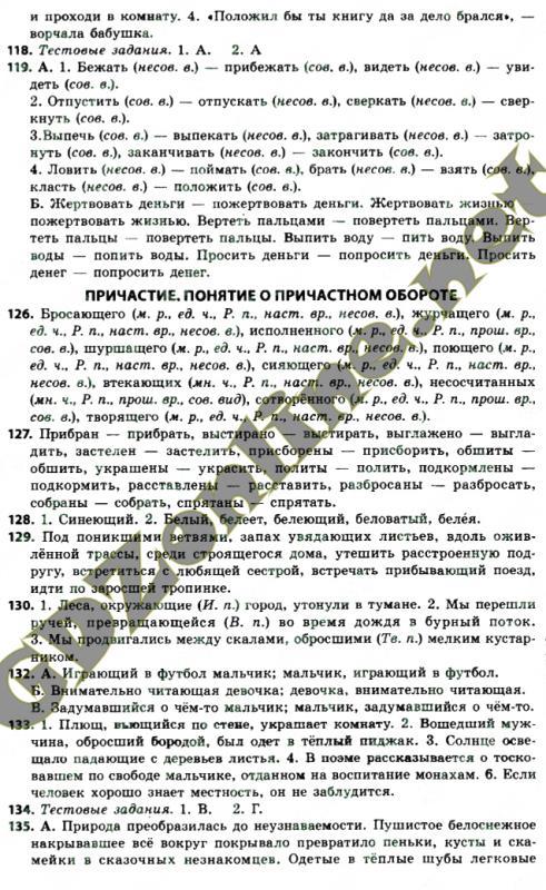 Решебник русский язык баландина
