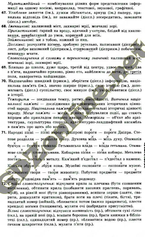 мови глазова клас до гдз 8 української