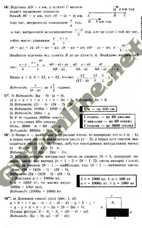 ГДЗ алгебра 7 класс Мерзляк 2015