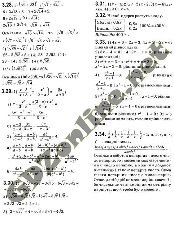 Гдз алгебра 9 класс нова программа
