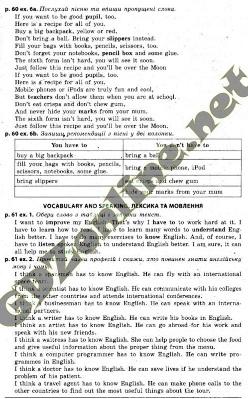 Гдз з англ мови 8 клас карпюк