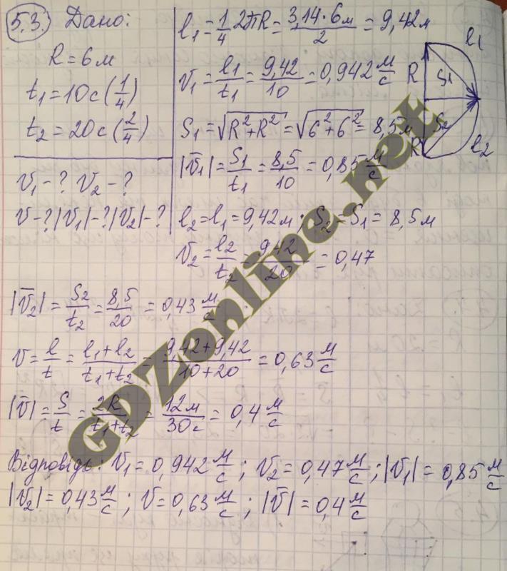 Решение к учебнику по физике 10-й класс барьяхтар