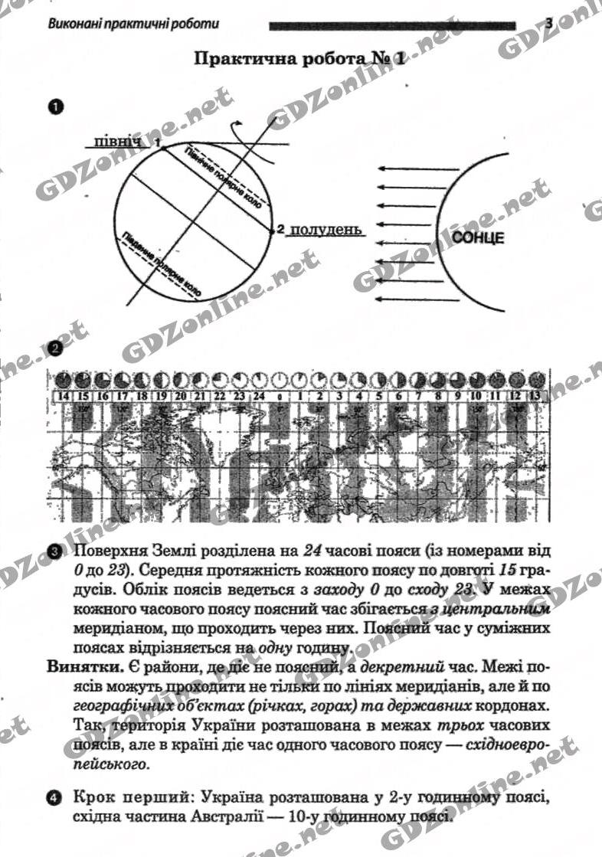 Практическая работа 2 коберник с.г коваленко р.р география материков и океанов 7 класс