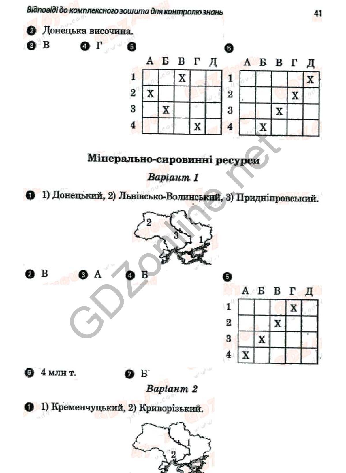 Решебник по загальна география 6 в.ф.вовк л.в.костенко