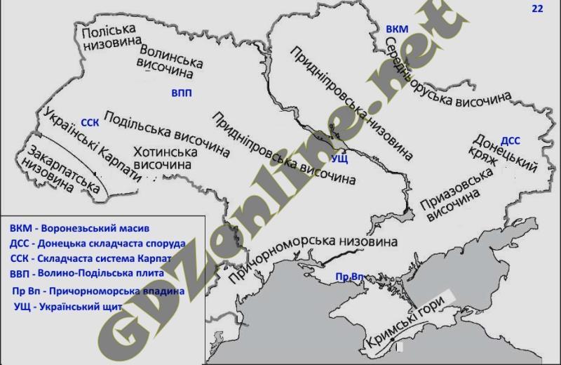 Гдз на тетрадь по географии украины 8 класс стадник довгань