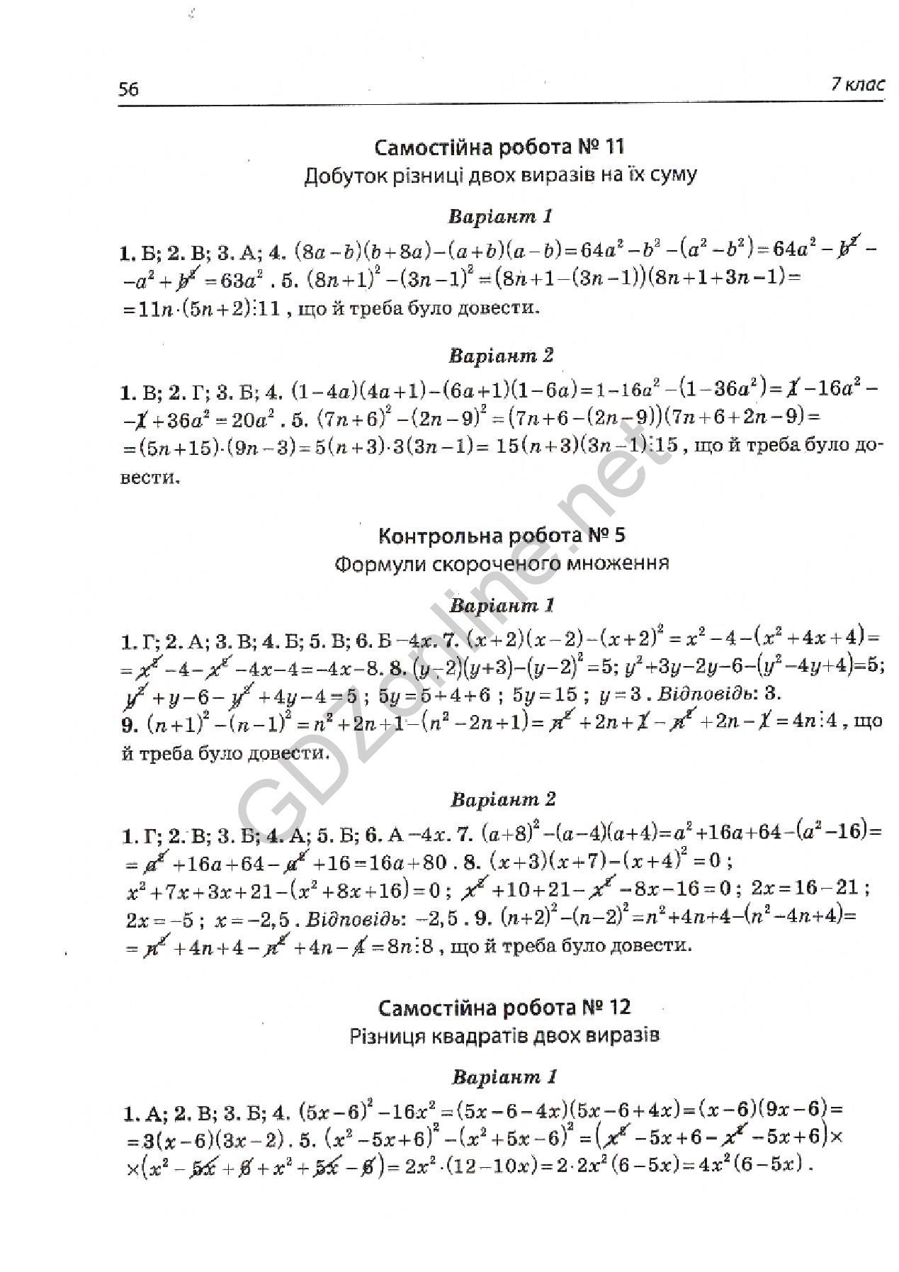 итоговый тест по алгебре 10 класс: