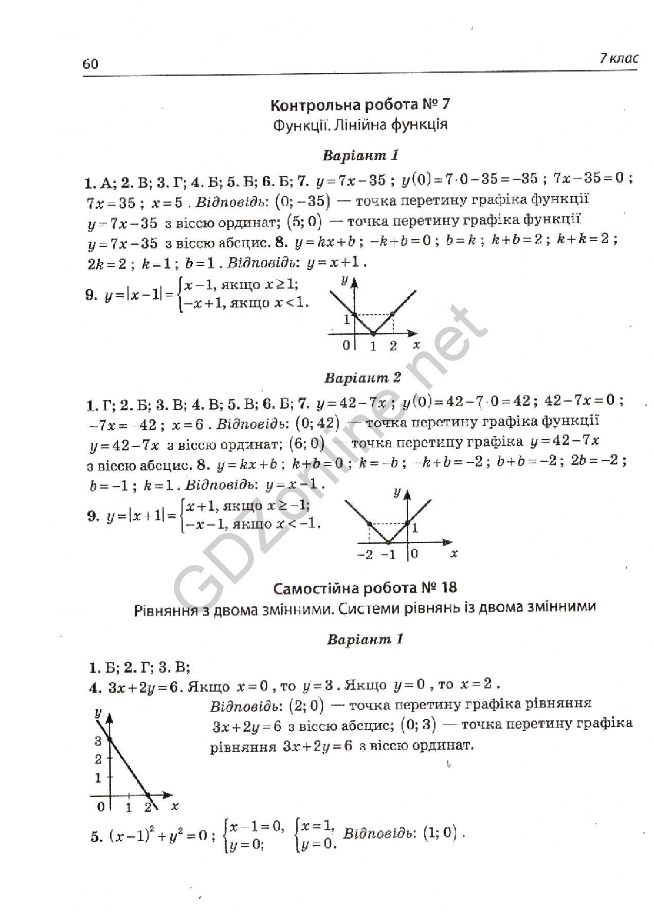 гдз гальперіна 7 геометрія контрольний зошит
