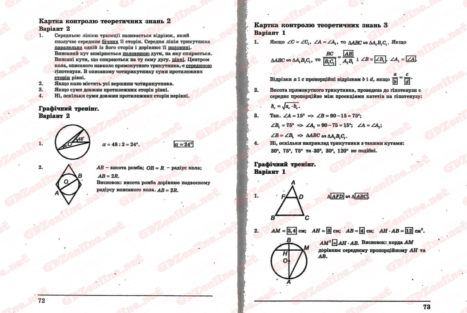 Ответы к комплексная тетрадь по алгебре 8 класс л.г стадник а.н роганин