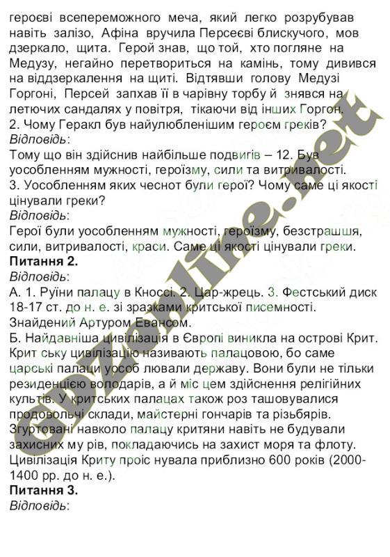 Гдз Історія України 7 Клас за Новою програмою Власов