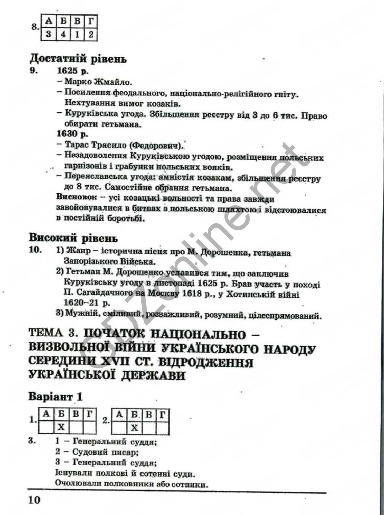 Гдз украина 11 класс