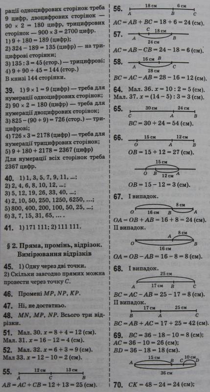 Математика 5 класс тарасенкова гдз тестові завдання