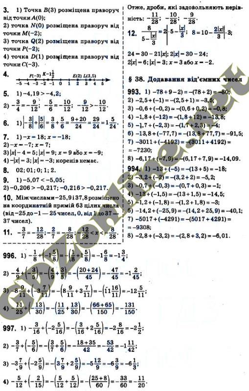 Решебник математика истер