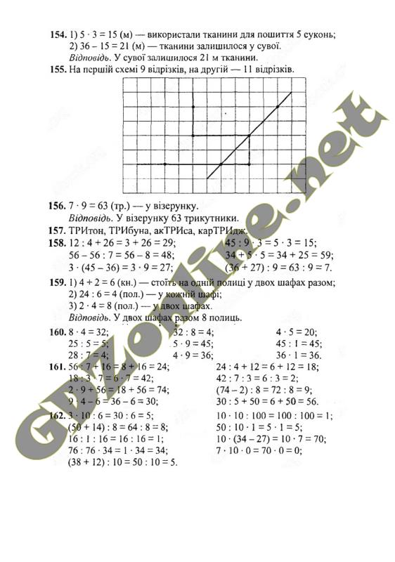 гдз з математики 2 клас рівкінд 2017