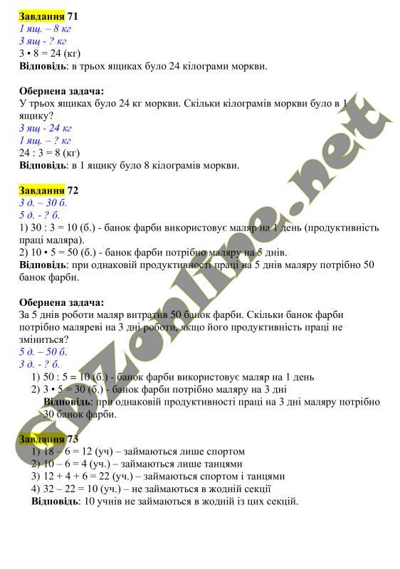 Математики з оляницька гдз 4 за клас