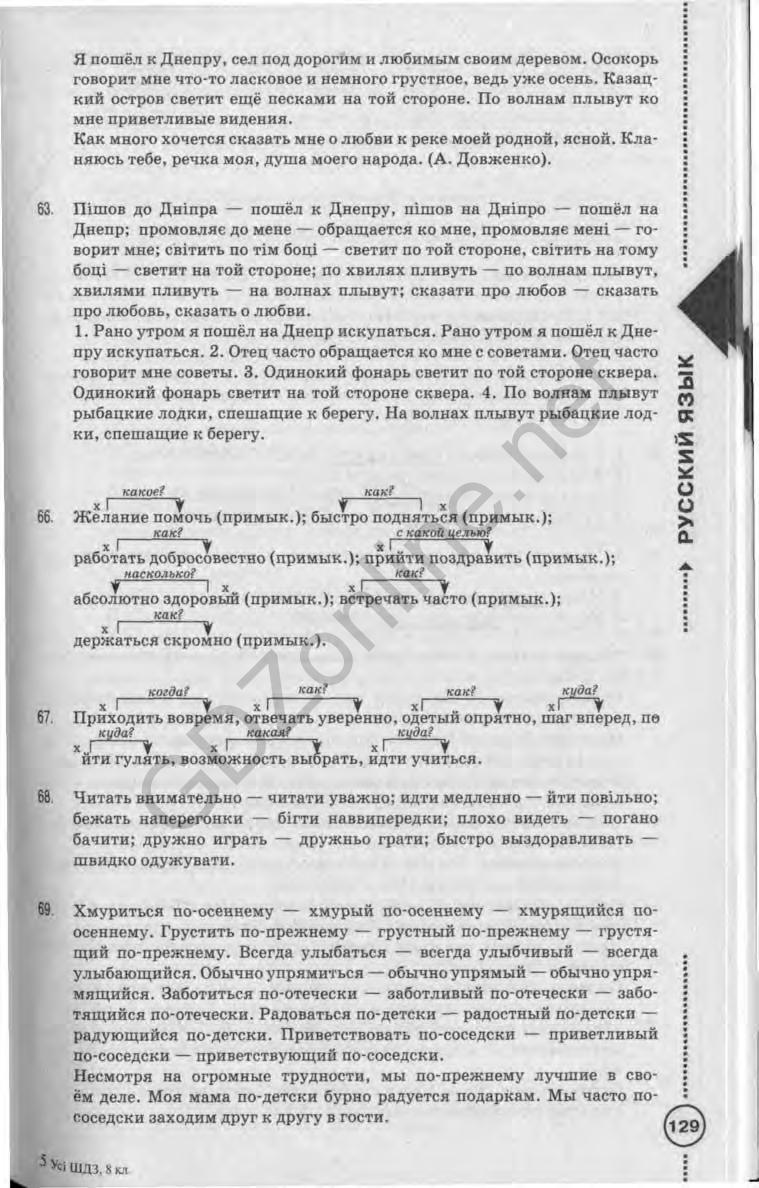 Гдз 7 Класс по русскому языку Михайловская Пашковская Распопова