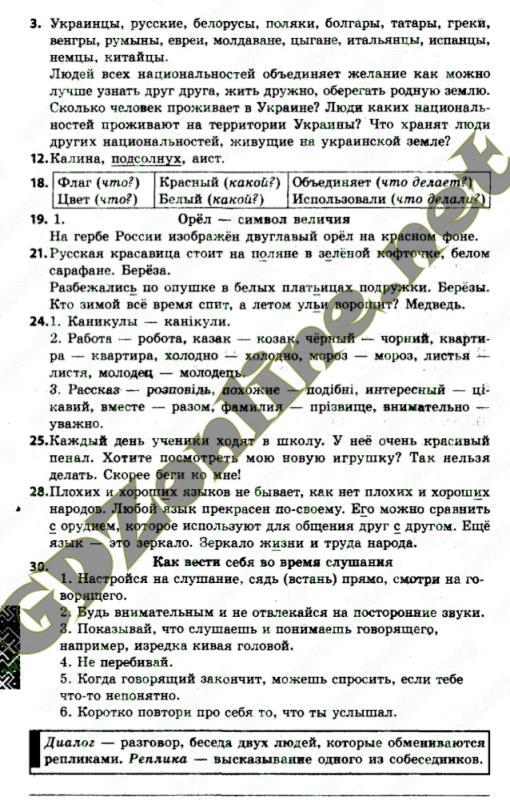 рос мова решебник 7 класс