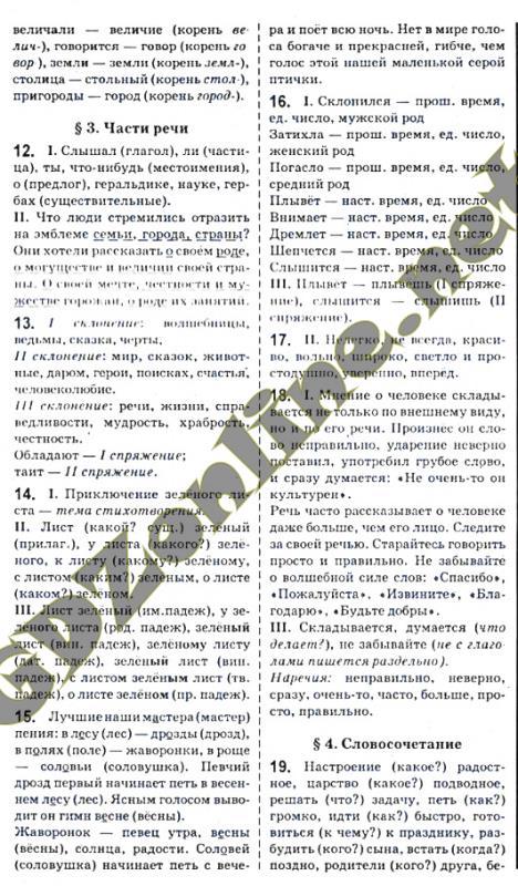 По русскому языку давидюк решебник класс