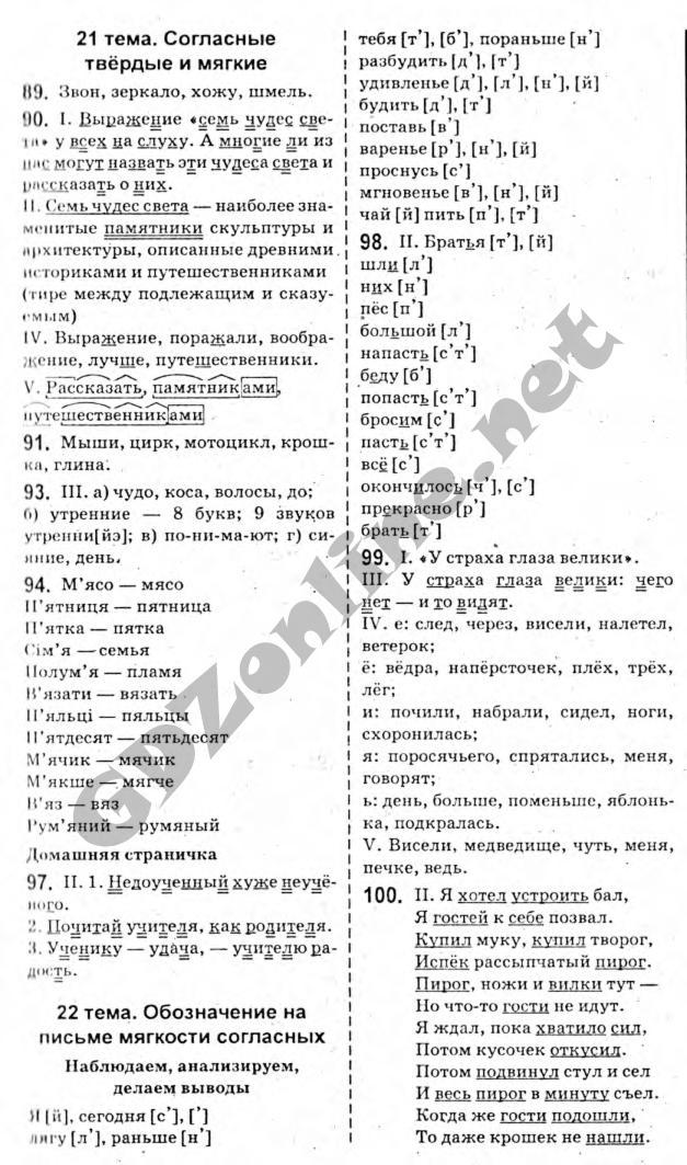 ГДЗ до підручника з російської мови 10 клас Т.М. Полякова, О.І. Самонова 2010 рік