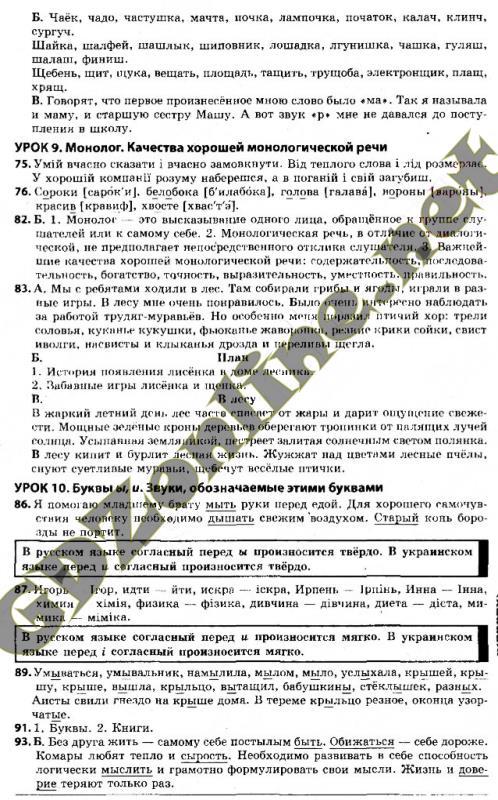 Гдз с Украинского языка 6 Класс Заболотний