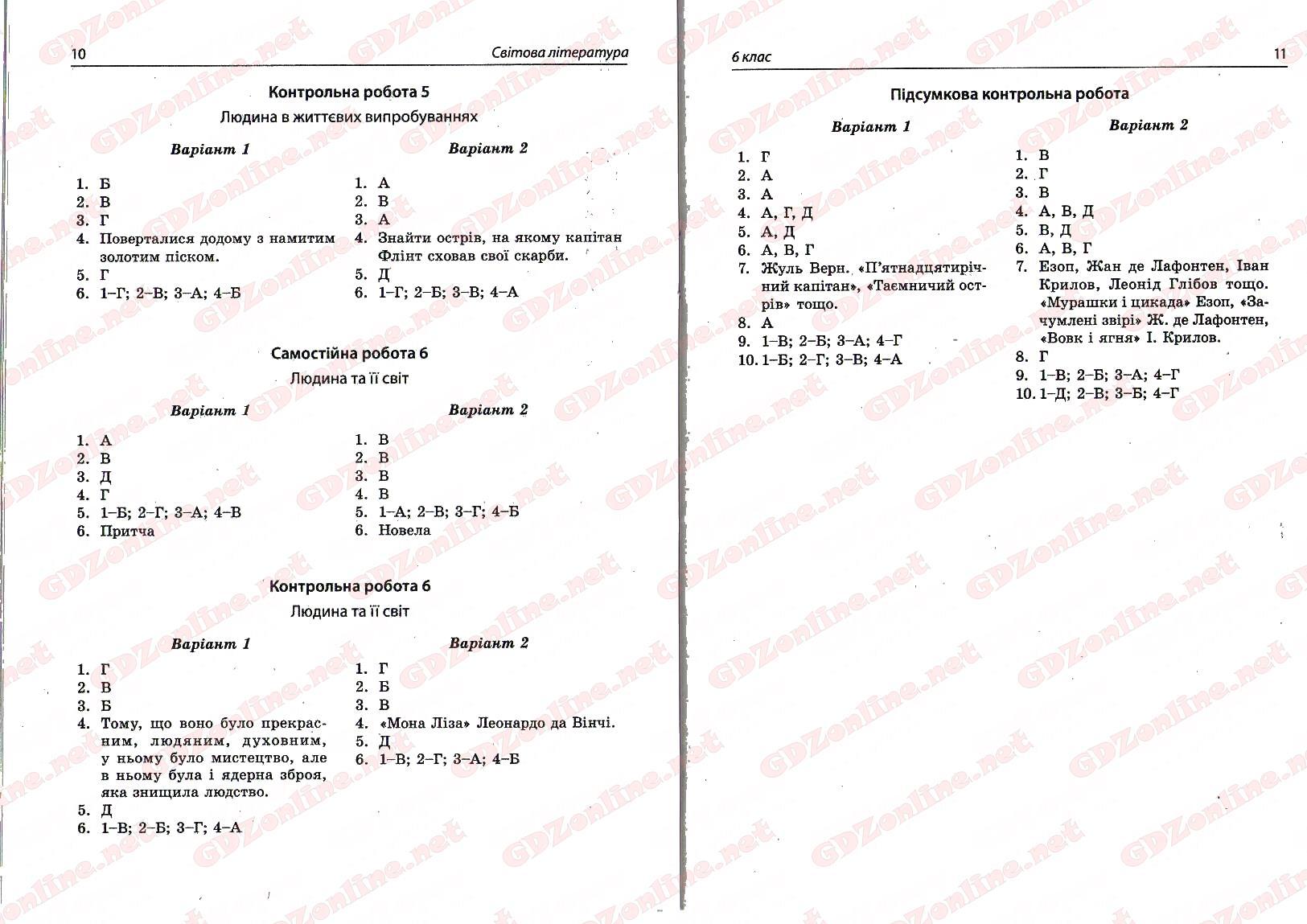 Географія 6 клас українська мова 6 клас