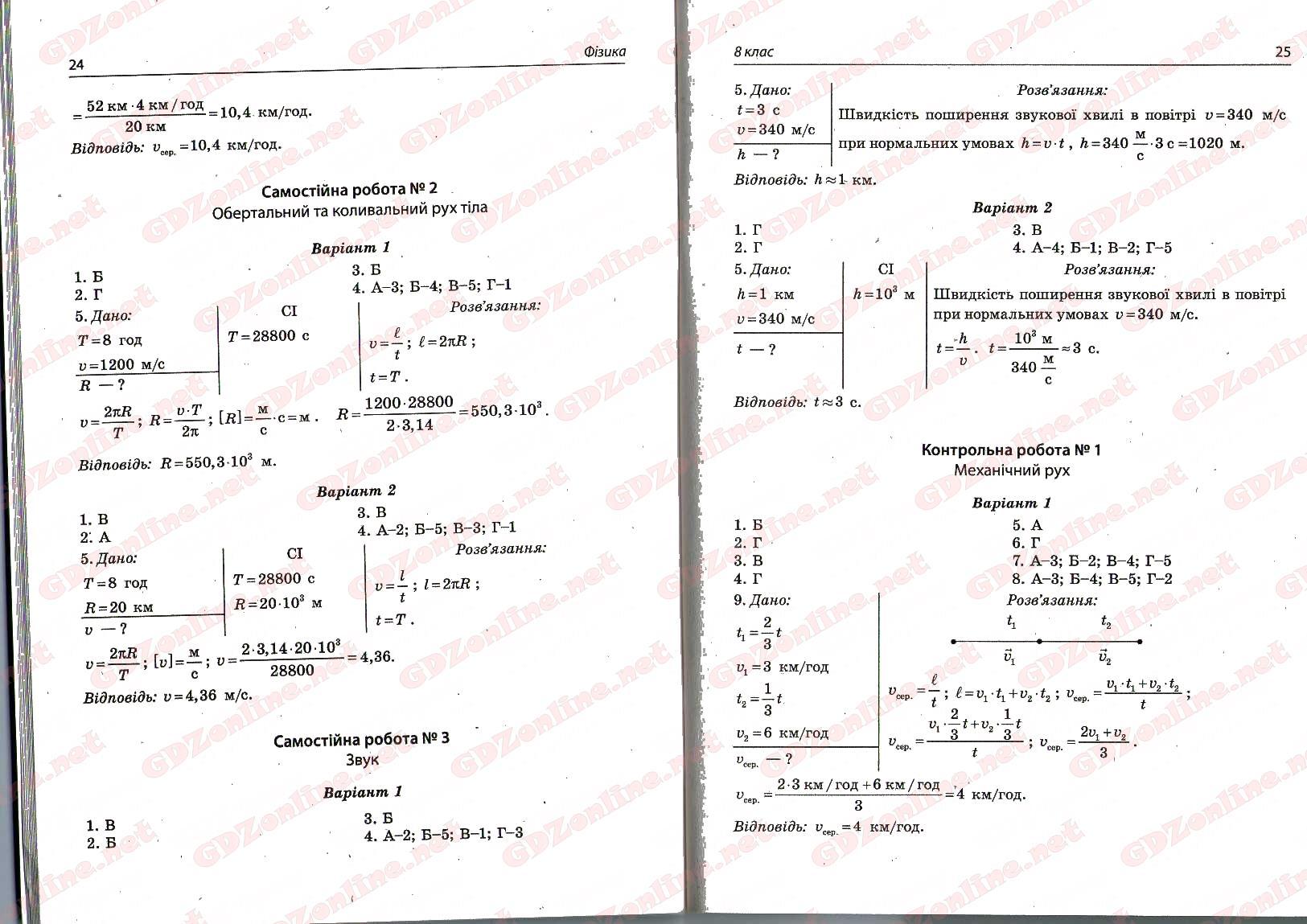 гдз фізика робочий зошит 9 клас варениця