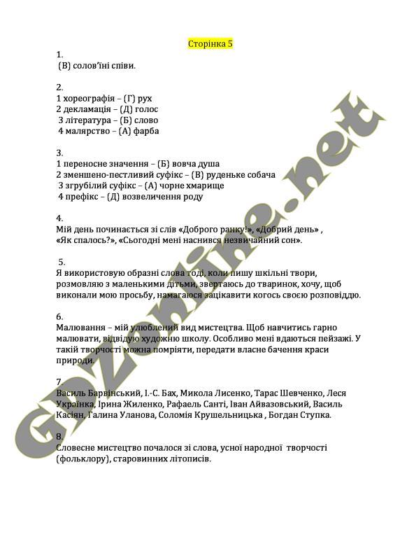 Готові домашні завдання (ГДЗ) для 7 класу з української літератури