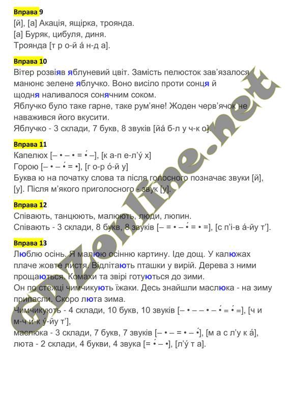 Решебник (ГДЗ) Українська мова 2 клас М.Д. Захарійчук (2012 рік)