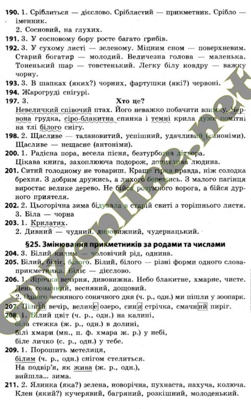 Українська мова 4 клас Варзацька
