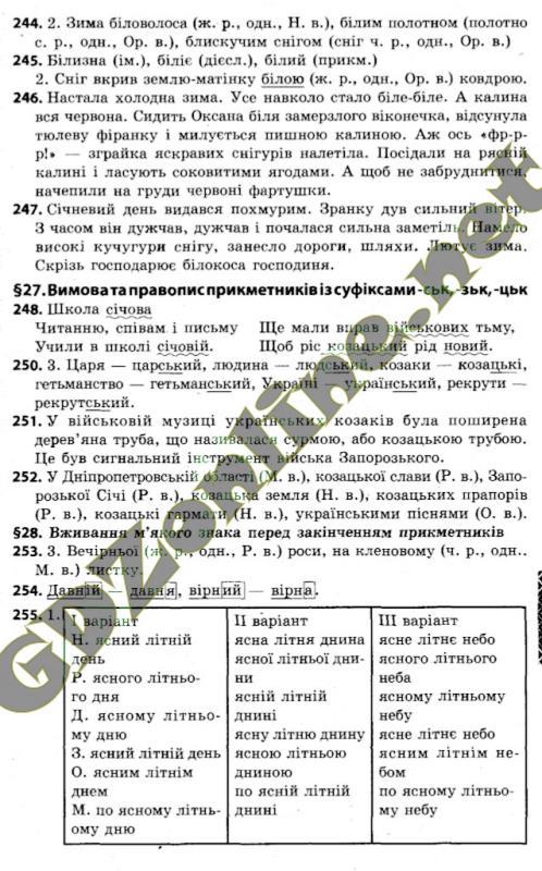 Гдз з української мови 4 класс захарійчук