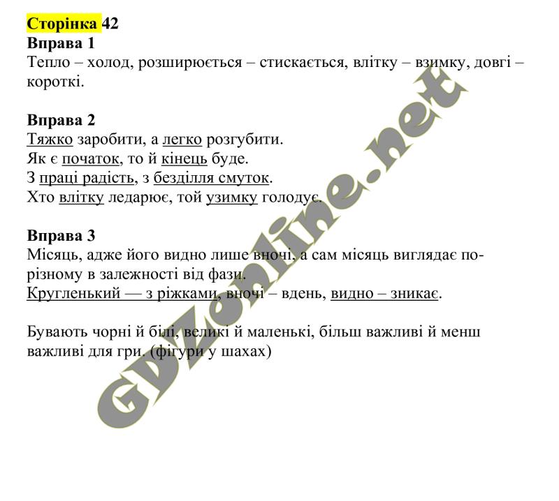 Гдз украінська мова