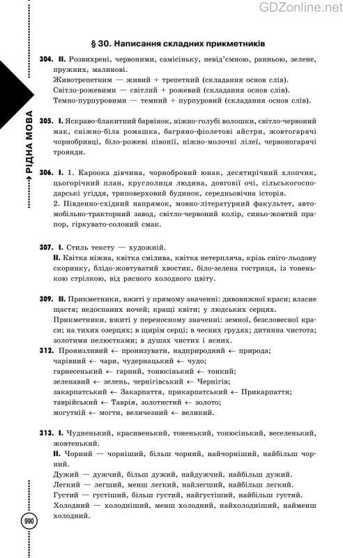 6 клас укр мова гдз