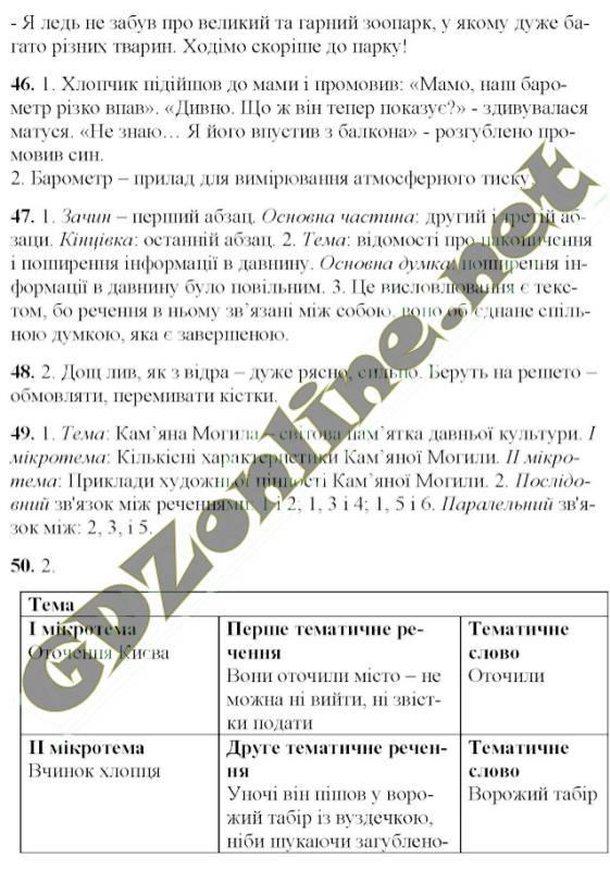 Гдз класу єрмоленко сичова 6 мова українська