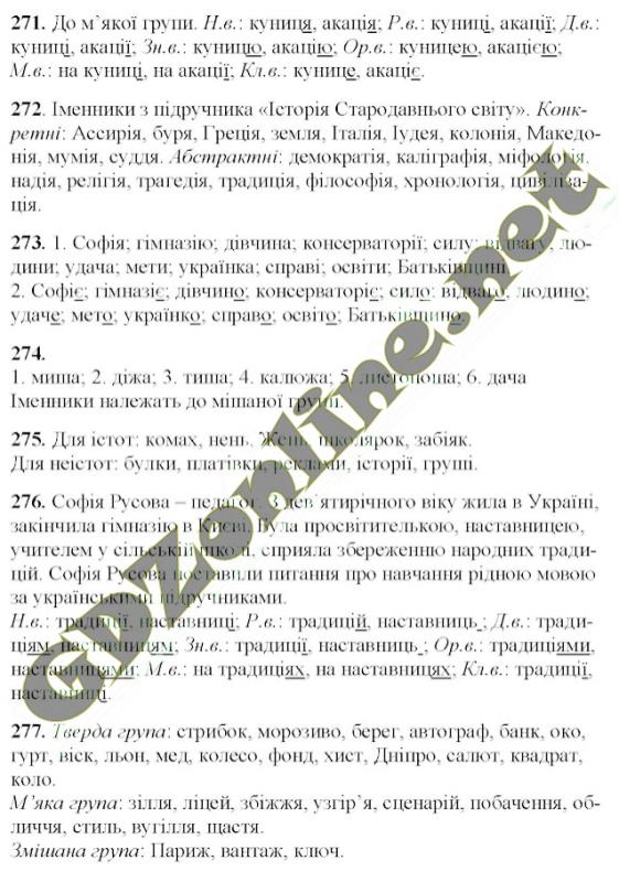 Решебник 6 Клас Укр Мова