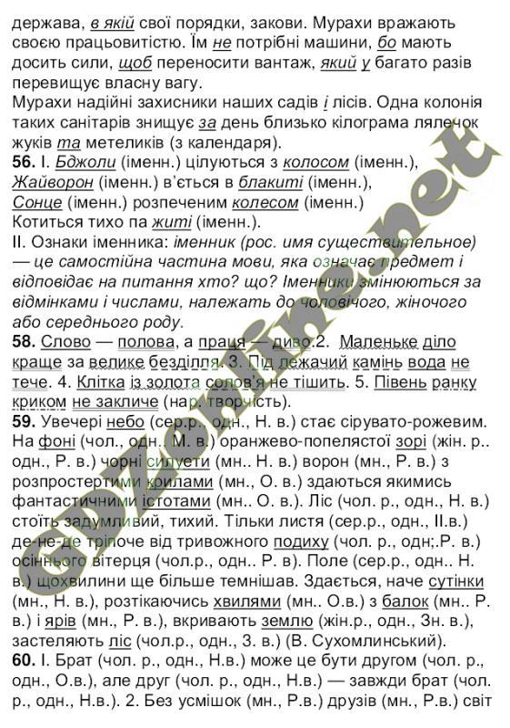 Решебник по укр мове 8 клас ворон солопенко впр