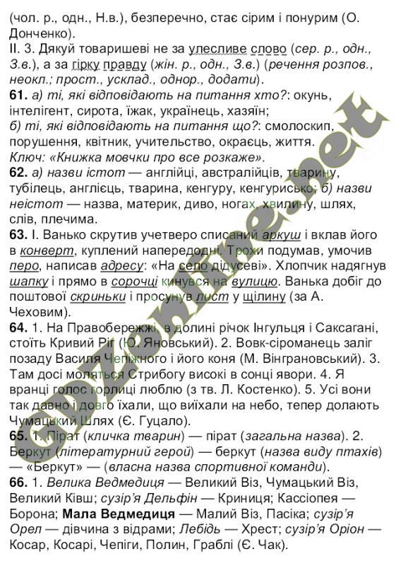 Решебник онлайн по украинскому языку ворон солопенко 6 класс