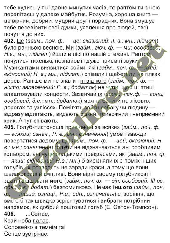 решебник по украинскому языку 6 класс а.а ворон в.а солопенко