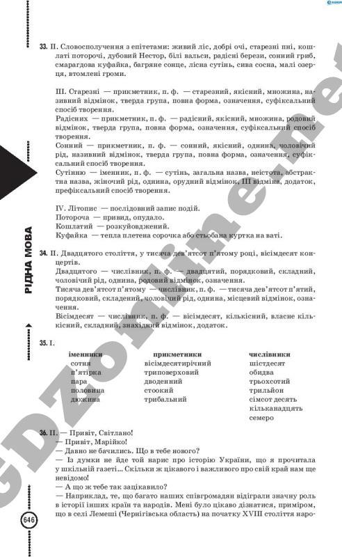 Гдз По Ридний Мови 7 Класс Глазова