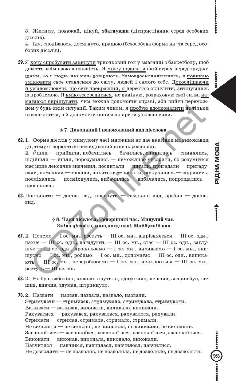 ГДЗ з укр мови 5 класс Ермоленко