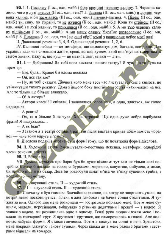 ГДЗ укр м 7 класс Глазова 2015